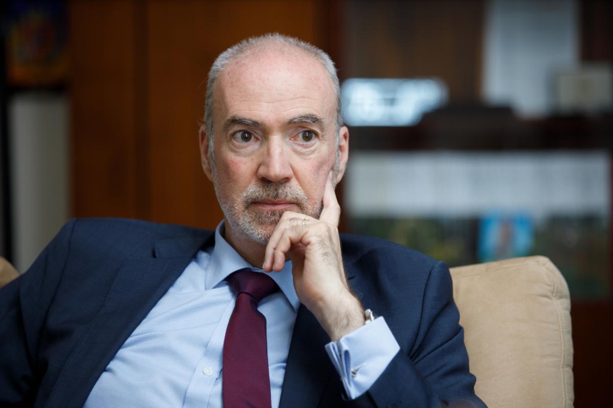 Посол Франции Этьен де Понсен