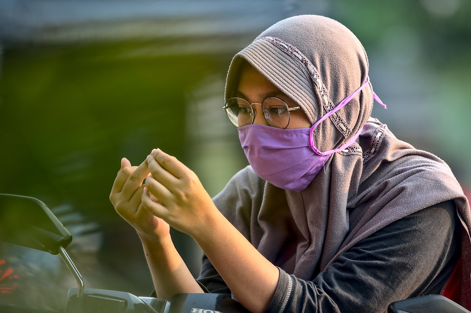 чума, маска, Китай