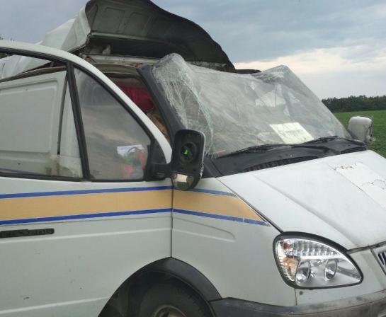 На Полтавщині зловмисники підірвали інкасаторське авто Укрпошти та забрали мільйони гривень – Новини Полтави