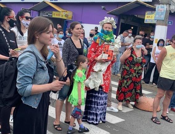 В Киеве выступили против закрытия книжного рынка Петровка – Петровка новости