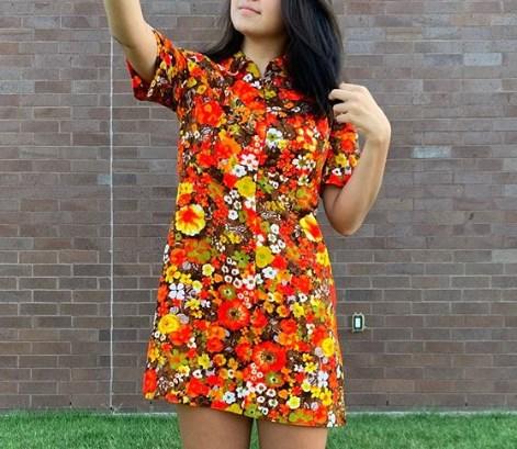 Модні сукні в стилі 70-х