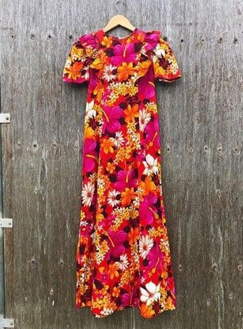 Модные платья в стиле 70-х