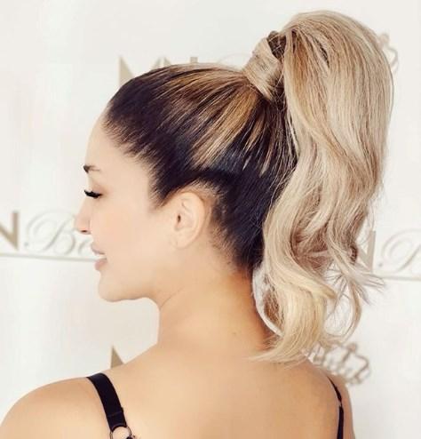 Зачіска хвіст 2020