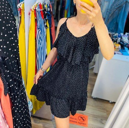 Модные платья с воланами