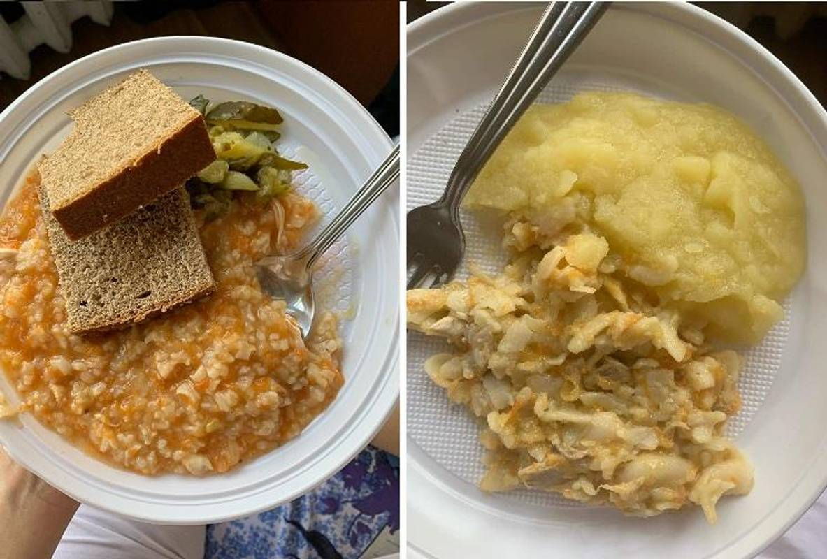 Коронавирус 2020 - как кормят в больницах Украины - фото