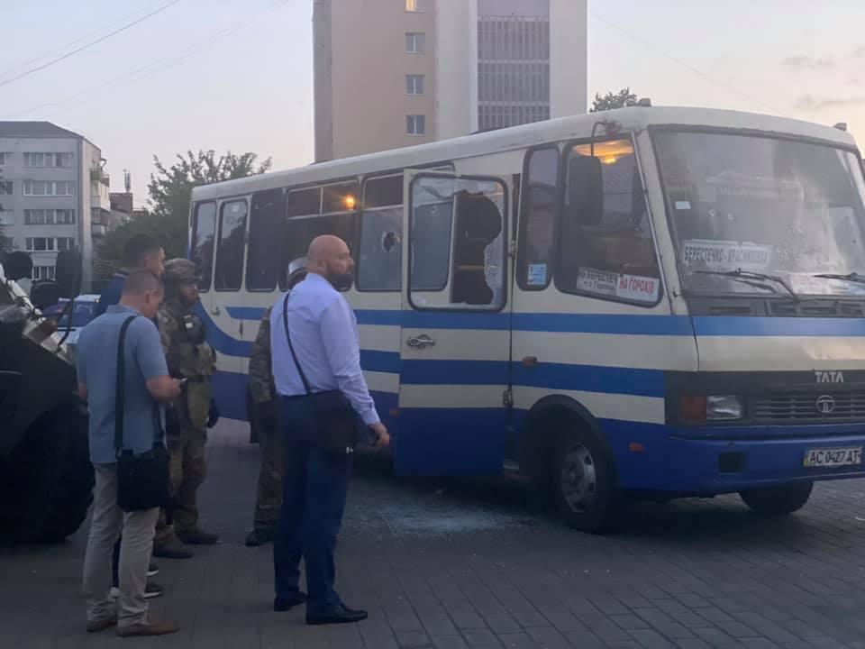 Затримання терориста в Луцьку