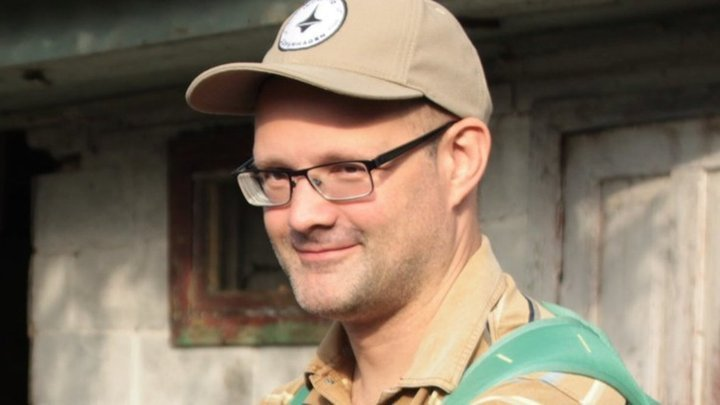 Кучапин, волонтер