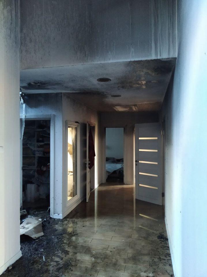 Пожежа в будинку Шабуніна