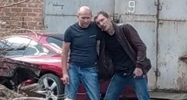 Террорист из Полтавы (справа)