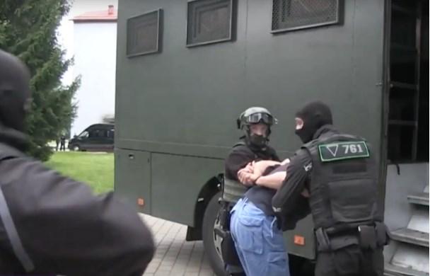 Под Минском белорусские власти задержали военных из частной военной компании Вагнер
