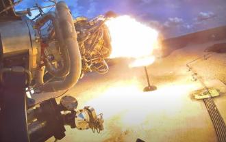 Свечи на торте зажгли ракетным двигателем