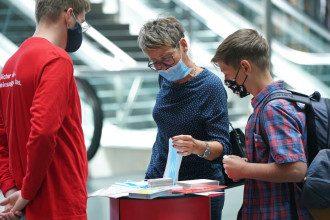 коронавирус маски германия