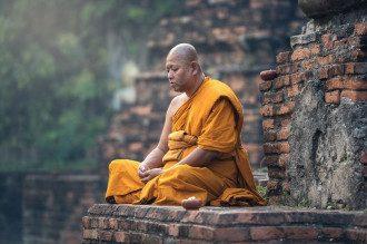Медитація, монах, тибет