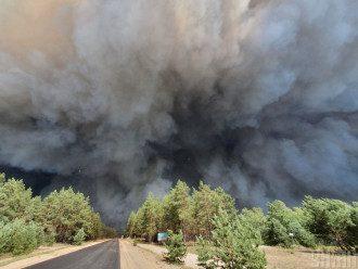 У Луганській ОВЦА повідомили, що масштабні пожежі на Луганщині завдали мільйонних збитків – Лісові пожежі в Україні