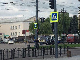 В Луцке мужчина захватил автобус с пассажирами / volynnews.com