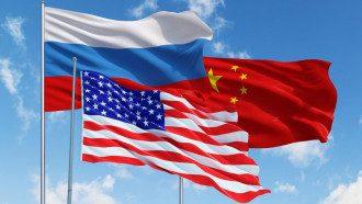 Росія США Китай