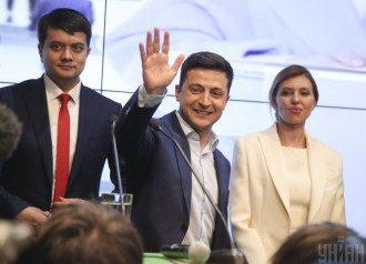Разумков, Зеленский