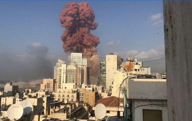 Взрывы в Бейруте