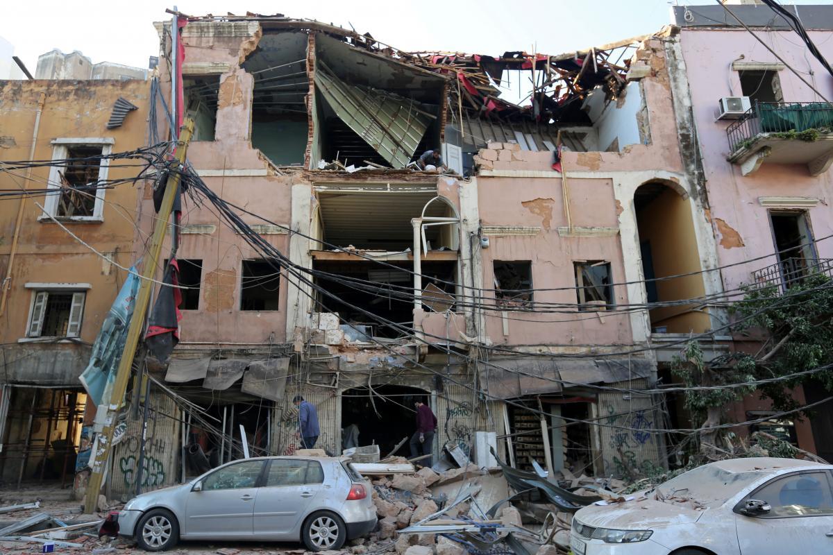 Посол сказал, что из-за взрывов в Бейруте пострадали украинцы, повреждено имущество – Бейрут взрывы