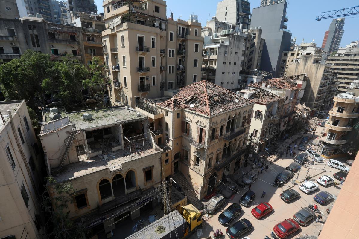 Після вибухів у Бейруті є заарештовані – Бейрут вибух