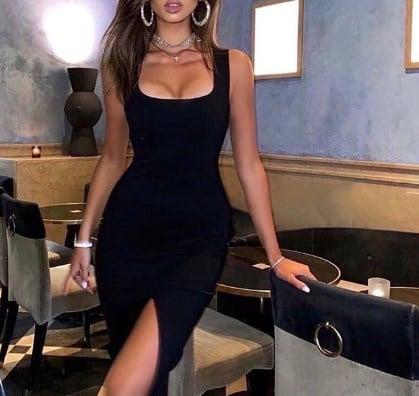 В моде total black