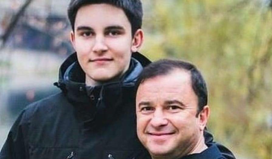 Віктор Павлик з сином Павлом