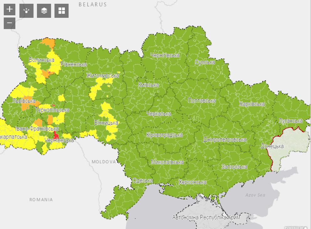 Харків Карта