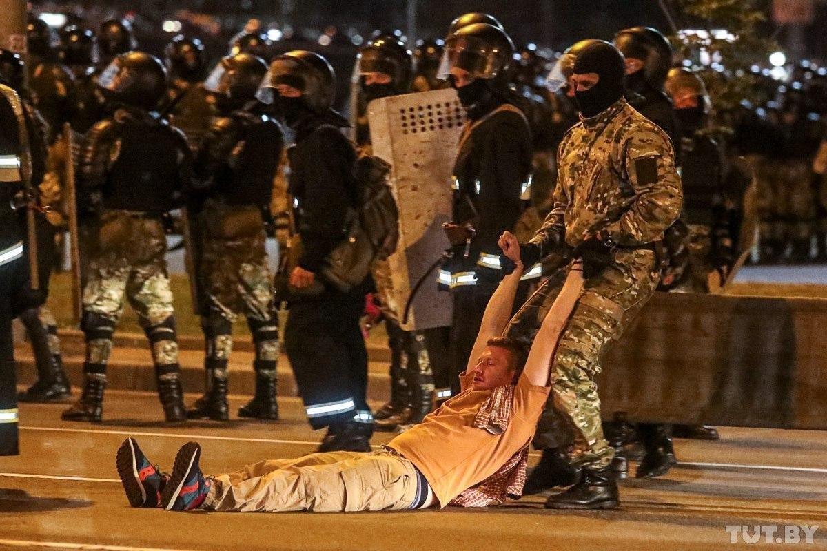 минск протести