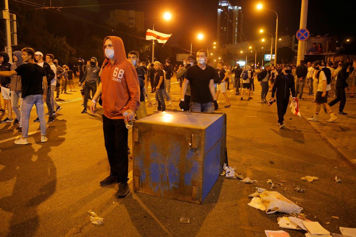 Протесты, Беларусь