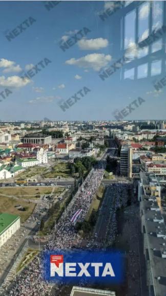 200 тысяч протестующих: в Беларуси прошел самый массовый в истории марш