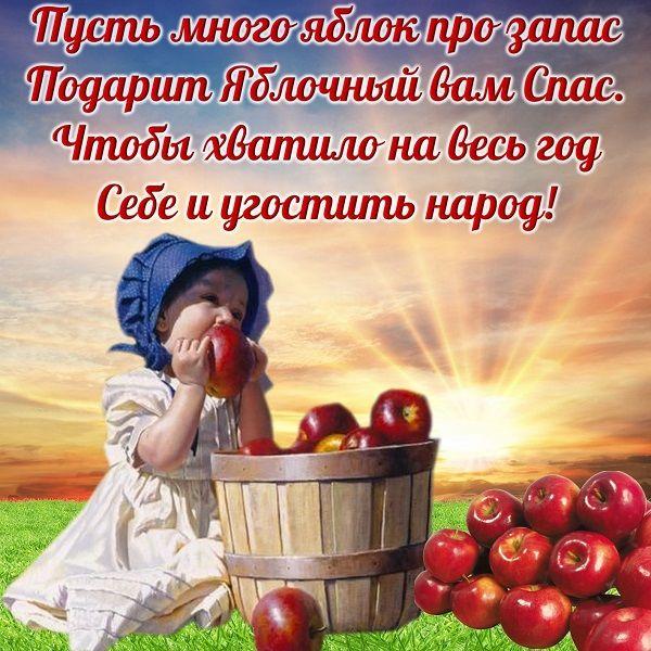яблочный спас открытки фото