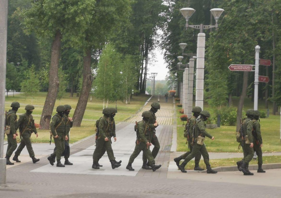 Мінськ, армія