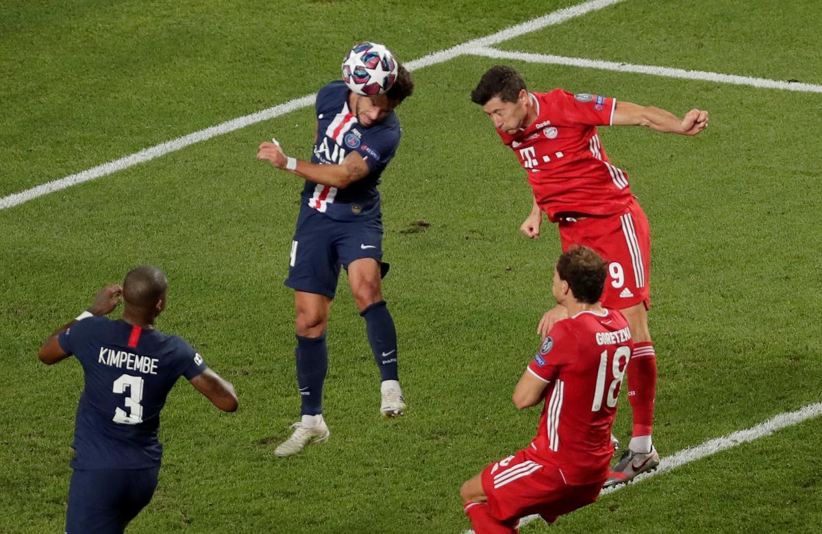 ПСЖ - Бавария финал Лиги Чемпионов 2020