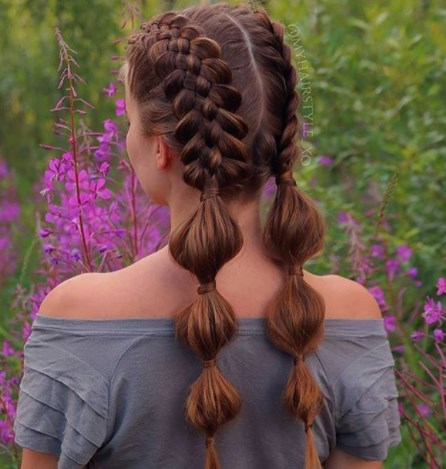 Зачіски на 1 вересня