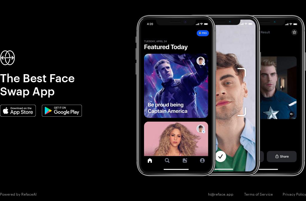 Reface в AppStore вышло на первое место - победа украинских разработчиков