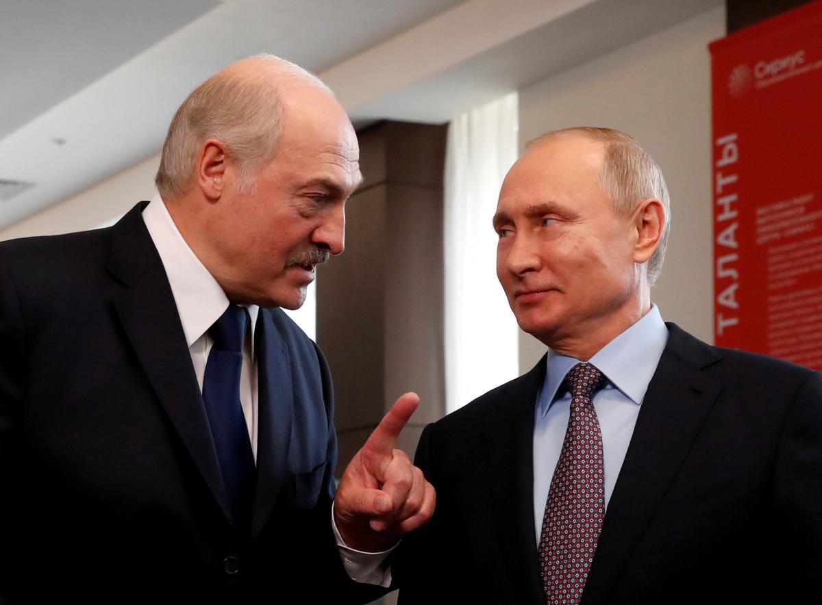 Лукашенко,Путин