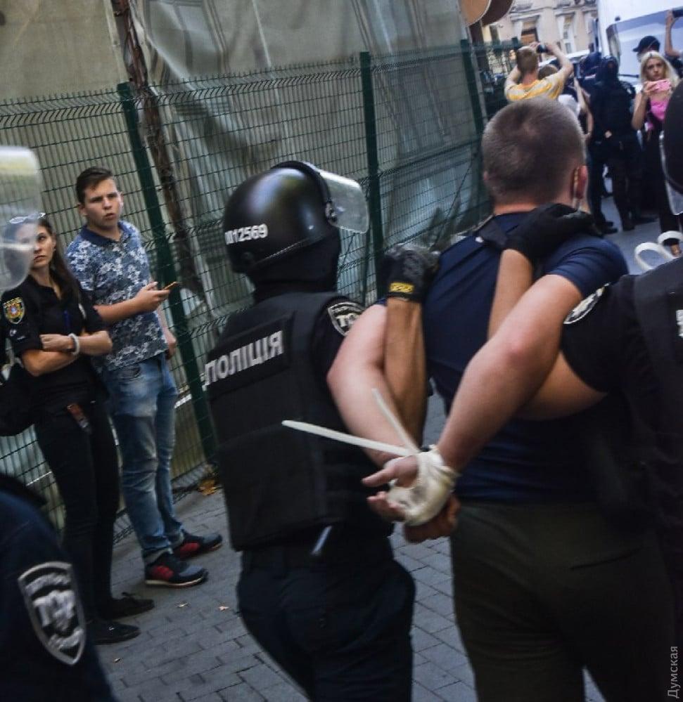 Активисты подрались с участниками ЛГБТ-фестиваля