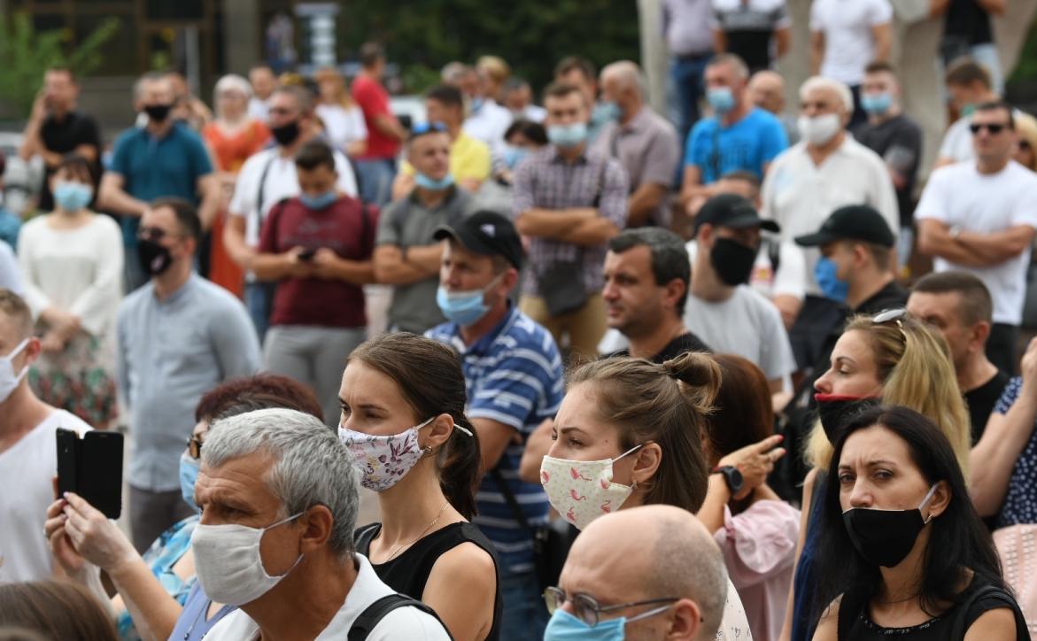 Протест против карантина