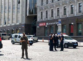 У Києві чоловік захопив відділення банку, а потім його затримали