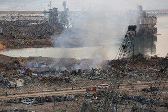 Кількість жертв вибухів у Бейруті зросла до 78 осіб