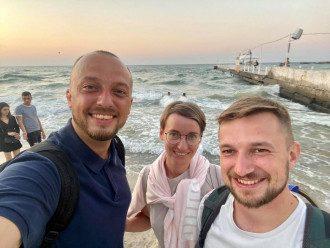 Задержанные журналисты вернулись в Украину / Фейсбук И.Гребенюка