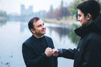 Виктор Павлик и сын