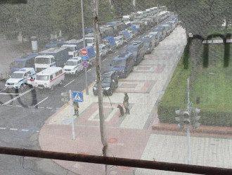 В Минске начались столкновения после выборов / Фото: People.onliner.by
