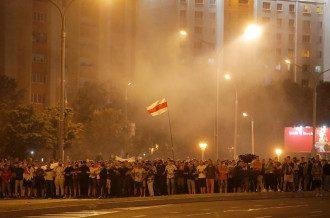 Протесты в Минске