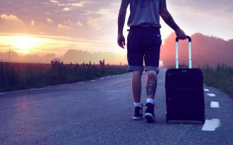 валіза, подорож