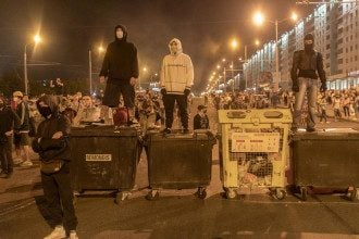 минск беларусь протесты
