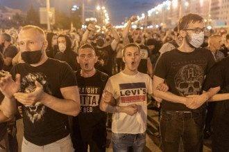 минск беларусь протести