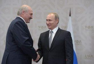 Путін Лукашенко
