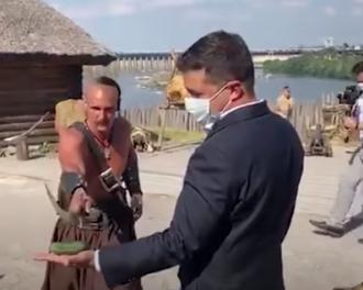 Козак Андрій, який засвітився із Зеленським, мітить у депутати – Зеленський у Запоріжжі