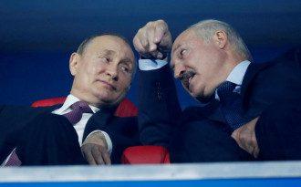 Експерт поділився, що Путін готовий на домовленість із Заходом щодо Лукашенка – Путін і Лукашенко